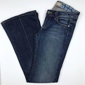 Paige Blue Bootcut Robertson Stretch Jeans Size 24